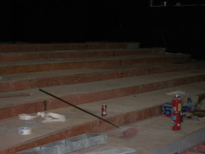 Main Stage Seating Risers